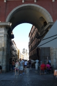 arco plaza mayor
